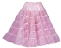 Longer-Length 50's Look Petticoat