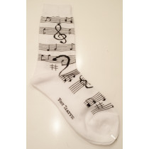 MUSIC NOTES SOCK