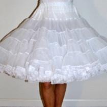 Soft Organdy 80-yard Petticoat w/Lace