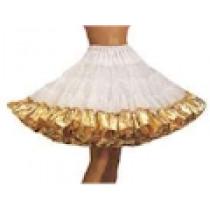 Lame Ruffle Petticoat