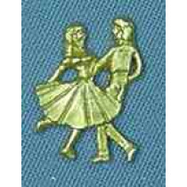 SQUARE DANCE COUPLE (PACKAGE OF 25)