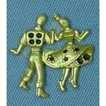 SMALL DOTTY DANCER COUPLE (PACKAGE OF 25)
