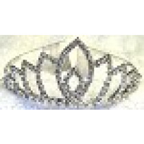 Large Rhinestone Tiara