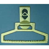 SQUARE AND ROUND TOWEL HOLDER