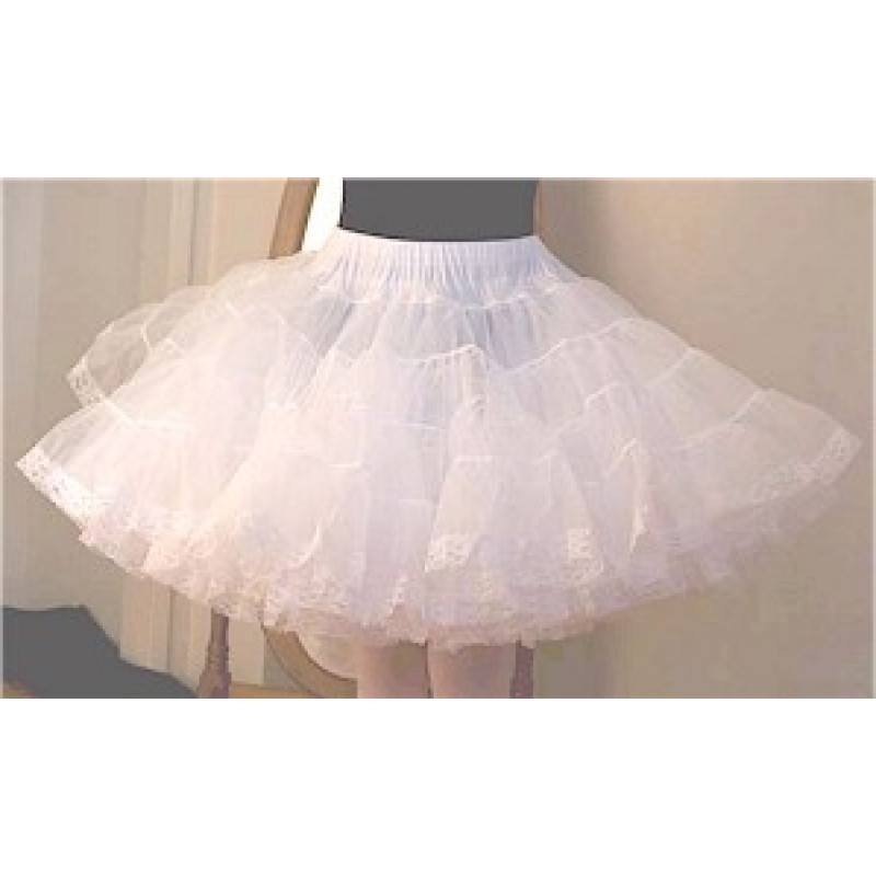Soft Organdy 80 Yard Petticoat With Lace