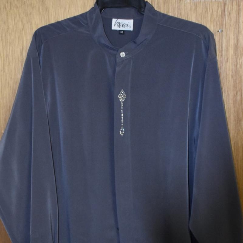 Mens Fuschia Dress Shirt