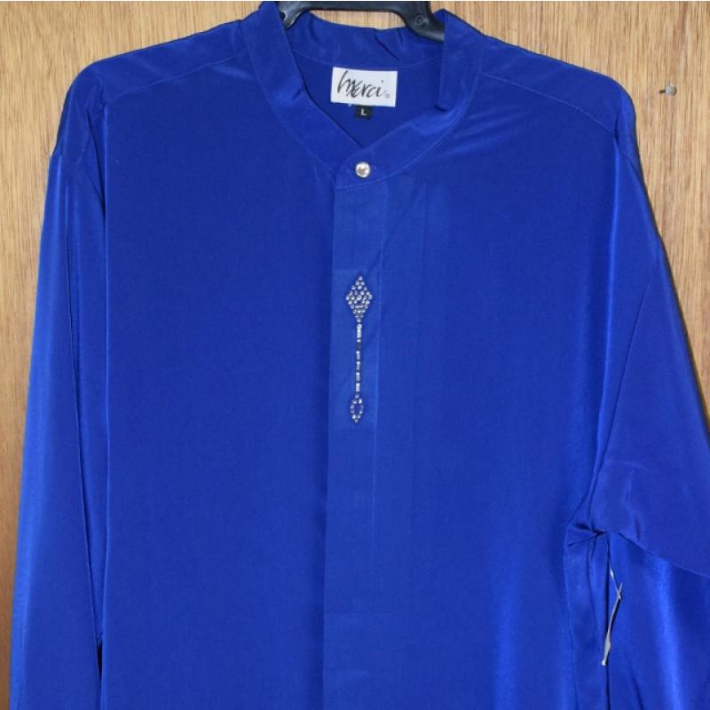 Royal Blue Mens Dress Shirts