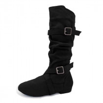 TALL SUEDE DANCE BOOT