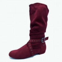 SUEDE DANCE BOOT
