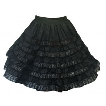 6 TIER LACE SKIRT