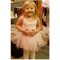 Camisole Leotard  Microfiber with Soft Tulle Tutu