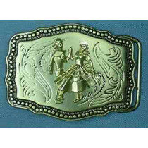 TRADITIONAL DANCER BELT BUCKLE