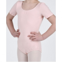 Short Sleeve Cotton Leotard (Child)