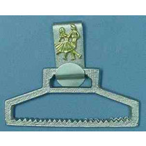 SQUARE DANCERS TOWEL HOLDER